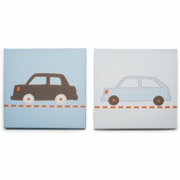 Carter's Bumper To Bumper 2 Piece Canvas Wall Art