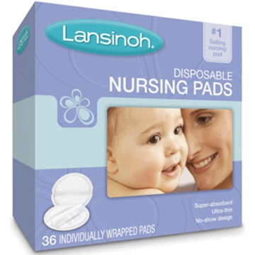 Lansinoh Disposable Nursing Pads - 36 Count Box