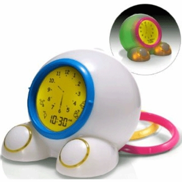 American Innovative Teach Me Time! Talking Alarm Clock & Nightlight