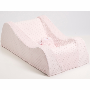 Nap Nanny Chill Portable Recliner in Minky Pink
