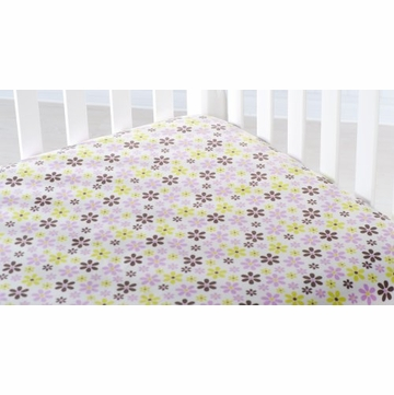 Carter's Elephant Patches Fitted Crib Sheet