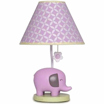 Carter's Elephant Patches Lamp Base & Shade