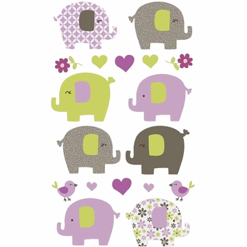 Carter's Elephant Patches Wall Decals