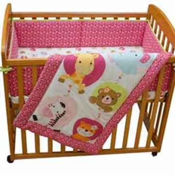Bedtime Originals Tutti Frutti 3 Piece Mini Crib Set