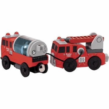 Thomas & Friends Wooden Railway Sodor Fire Crew