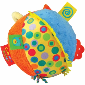 "Kids Preferred 8"" Cute as a Button Chime Ball"