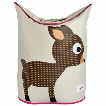 3 Sprouts Hamper in Deer Brown