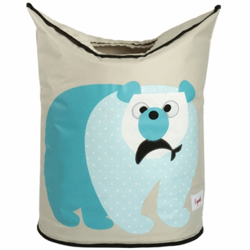 3 Sprouts Hamper in Polar Bear Blue
