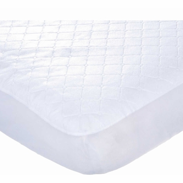 Carters Keep Me Dry Flat Quilted Crib Pad - White