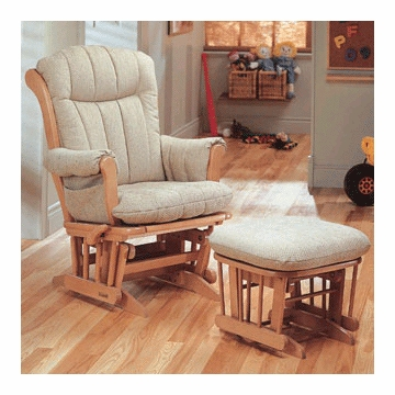 Dutailier 978120 Multiposition and Reclining Glider with Comfort Plus Cushion