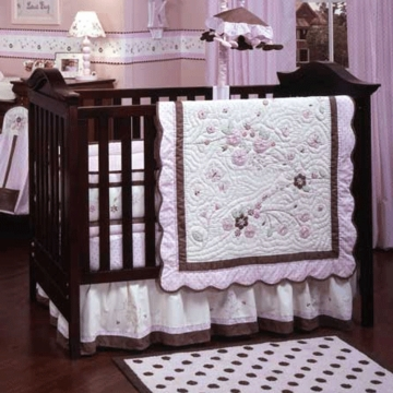 Carter's Love Bug 4 Piece Baby Crib Bedding