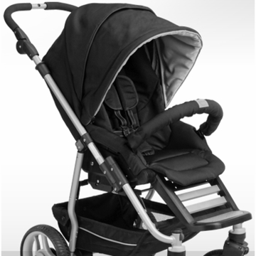 Teutonia T-Stroller Seat in Carbon Black