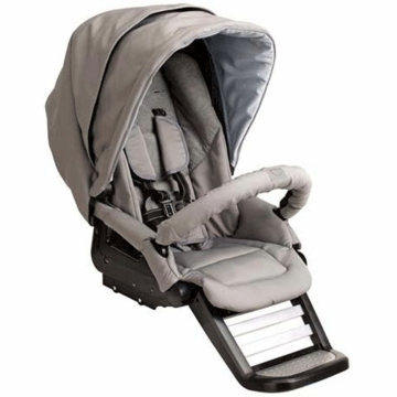 Teutonia T-Stroller Seat in Sterling Silver
