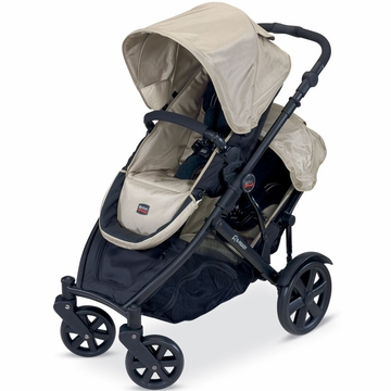 Britax B-Ready Stroller and 2nd Seat In Twilight 2011