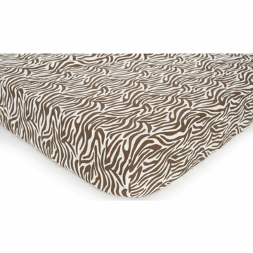 Carter's Printed Crib Sheet - Zebra