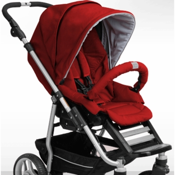 Teutonia T-Stroller Seat in Venetian Red