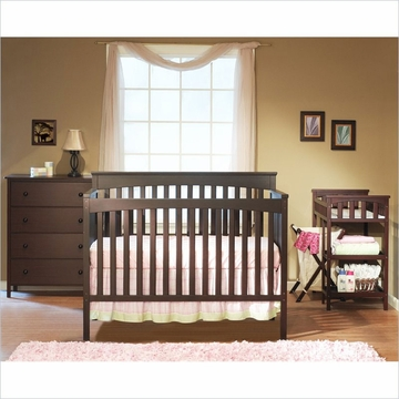 SB2 Petite Paradise Kids' Nursery Room in A Box in Cherry