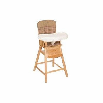 Eddie Bauer Wooden High Chair in Hudson