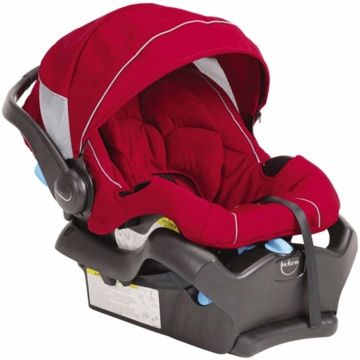 Teutonia T-Tario 35 Infant Car Seat in Venetian Red