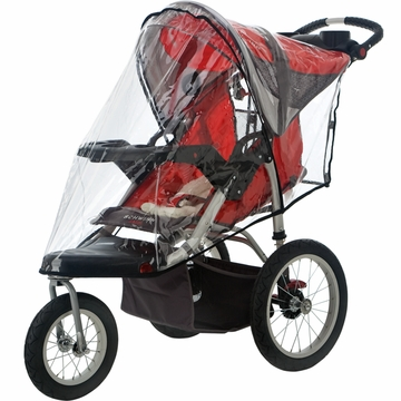 InSTEP Weathershield Single Swivel Wheel Clear
