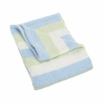 Carter's Super Cozy Striped Blanket in Blue