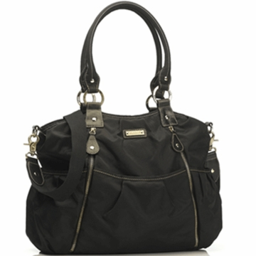 Storksak Olivia Diaper Bag in Black
