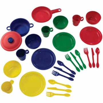 KidKraft 27 Piece Cookware Playset in Primary