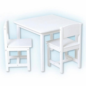Kidkraft Aspen Table and 2 Chair Set in White