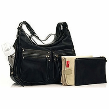 Storksak Emily Diaper Bag - Black