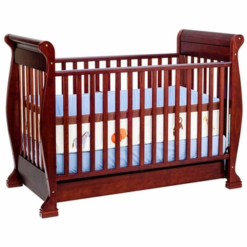 DaVinci Anastasia 4-in-1 Convertible Crib in Cherry