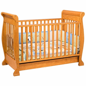 DaVinci Anastasia 4-in-1 Convertible Crib in Oak