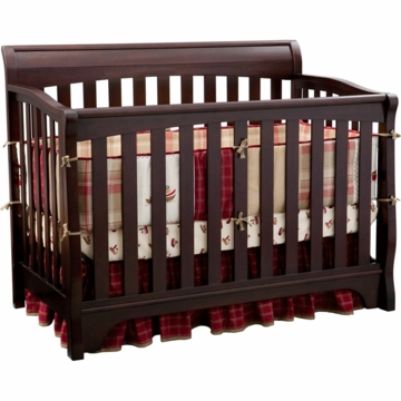 Delta Eclipse 4-in-1 Convertible Crib in Black Cherry