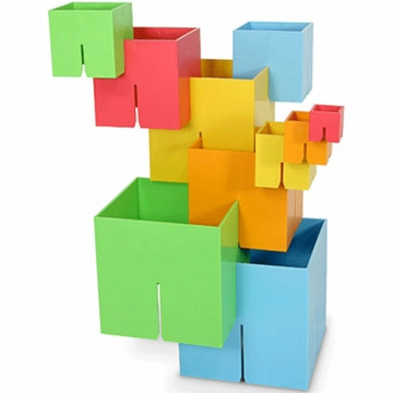 Fat Brain Toy Dado Cubes Original