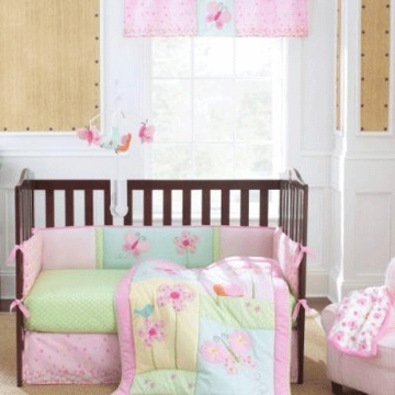 Carter's Meadow Lark 4 Piece Crib Bedding Set