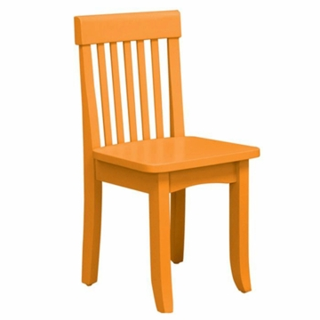 KidKraft Avalon Chair in Tangerine