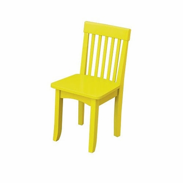 KidKraft Avalon Chair in Yellow
