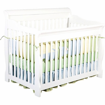 Delta Canton 4 in 1 Convertible Crib in White