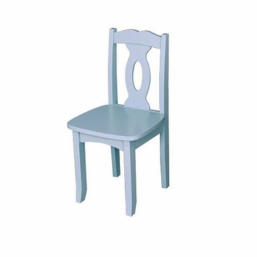 KidKraft Brighton Chair in Sky Blue