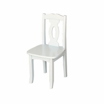 KidKraft Brighton Chair in White