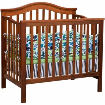 Delta Liberty Mini Crib in Dark Cherry