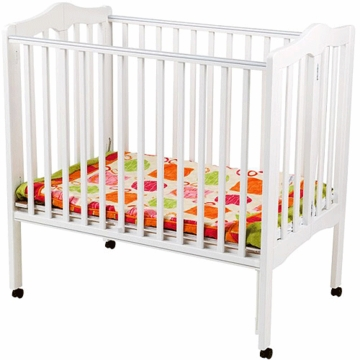 Delta Portable Crib Non Drop Side White