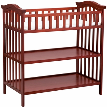 Delta Serenity Changing Table - Brick Cherry