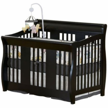 Delta Soho 5-in-1 Crib - Black