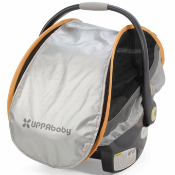 UppaBaby Cabana Infant Car Seat Shade - Grey
