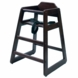 Lipper International 516E High Chair in Espresso