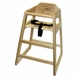 Lipper International 516 High Chair in Natural