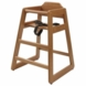 Lipper International 516P High Chair in Pecan