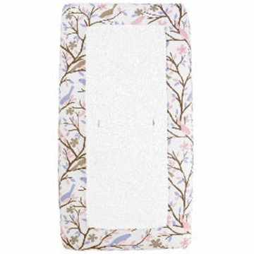 DwellStudio Sparrow Lilac Changing Pad Cover