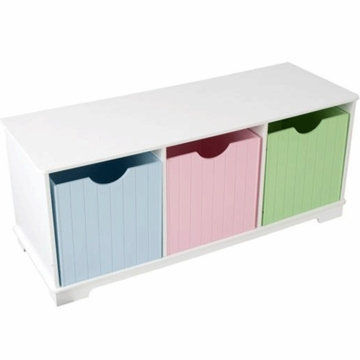 KidKraft Nantucket Storage Bench - Pastel