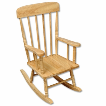 Kidkraft Spindle Rocking Chair in Natural